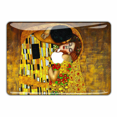 The Kiss - Gustav Klint Macbook Skin - Heartsi Co