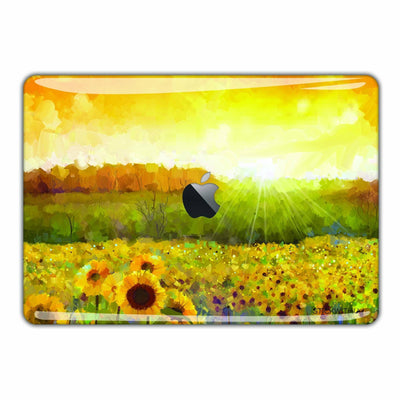 Sunflower Painting Macbook Skin - Heartsi Co