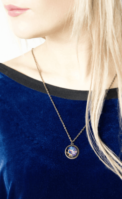 Personalised Space Necklace