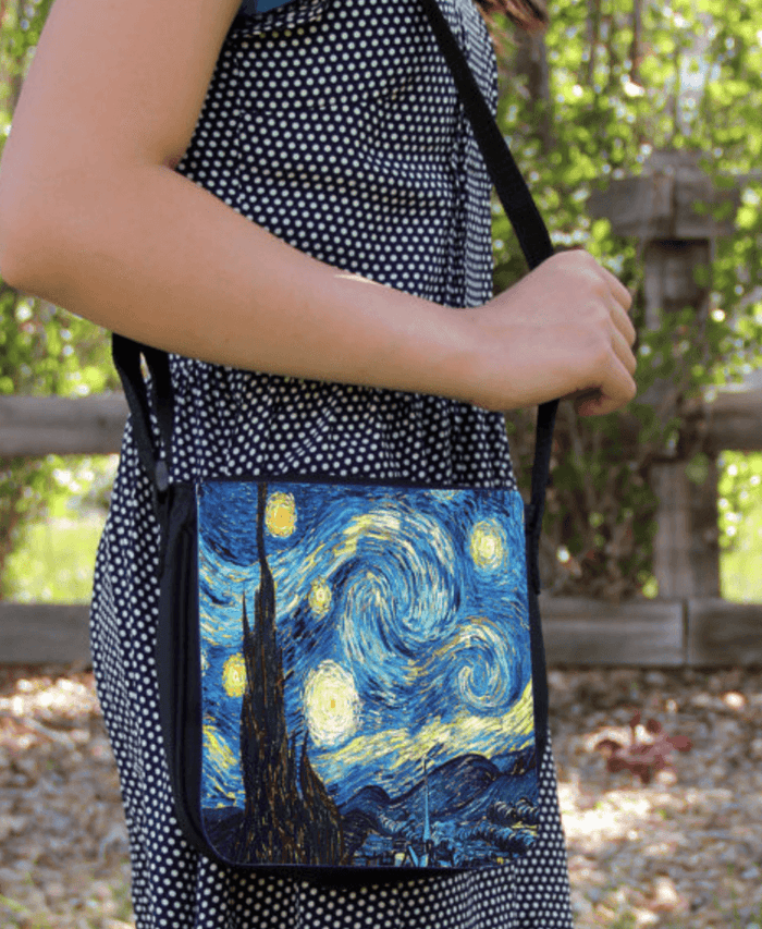 Starry Night Vincent Van Gogh Small Messenger / Shoulder Bag