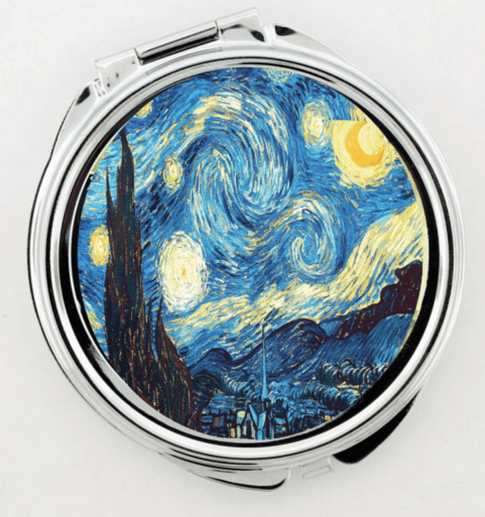 Starry Night Vincent Van Gogh Artwork Make-up Mirror