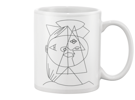 Picasso Cubic Mug - Heartsi Co