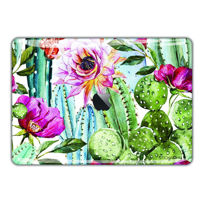Watercolor Leaf Pattern Macbook Skin - Heartsi Co