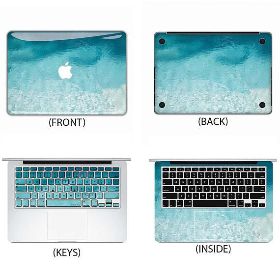 Water Texture Macbook Skin