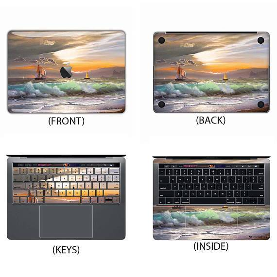 Sunset Ocean Macbook Skin