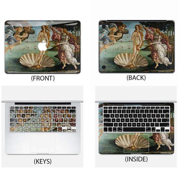 Birth of Venus Macbook Skin - Heartsi Co
