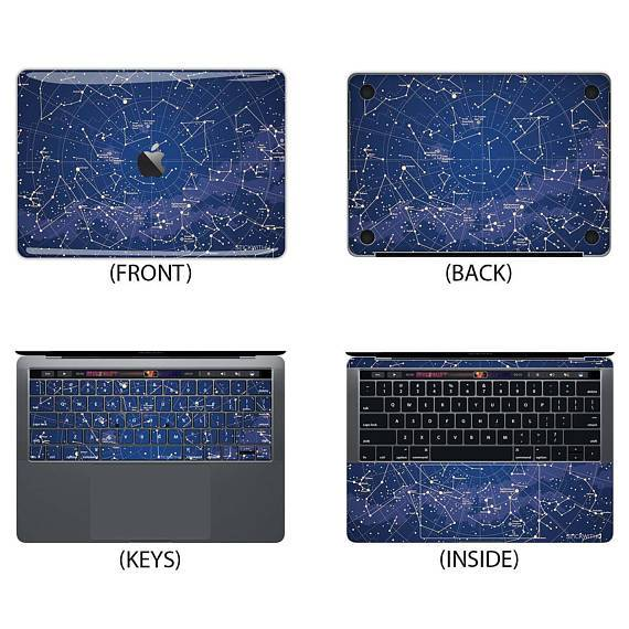 Constellations Macbook Skin