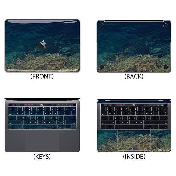 Underwater Macbook Skin