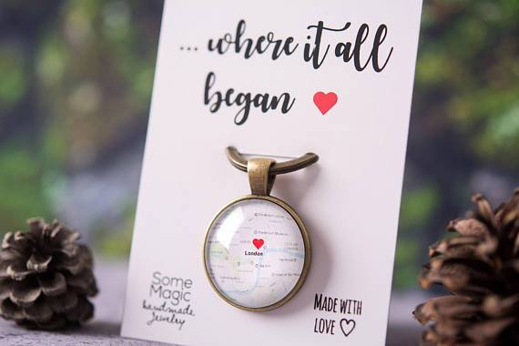 Personalised Map Gift