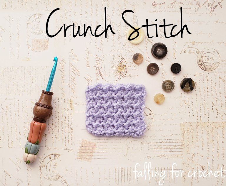 Learn how to Crochet the Crunch Stitch