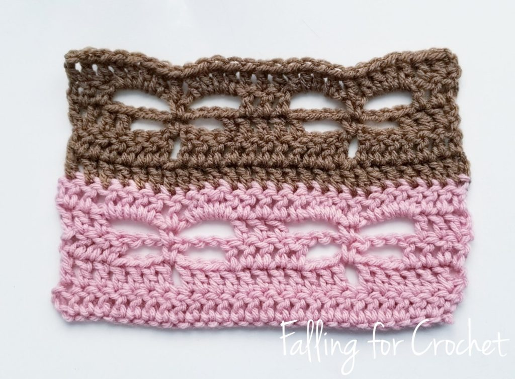 Learn how to Crochet the Dragonfly Stitch
