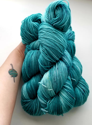 Talk Teal To Me Yarn - Heathers Yarn Barn