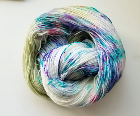 Secret Garden - Heathers Yarn Barn - hand dyed yarn