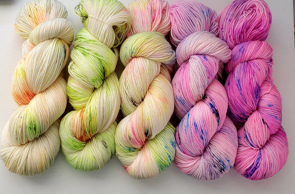 Like Totally Radical! Fade Kit - Heathers Yarn Barn