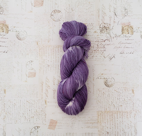 Flammegarn Collection - Purple Parlor - READY TO SHIP - Heathers Yarn Barn