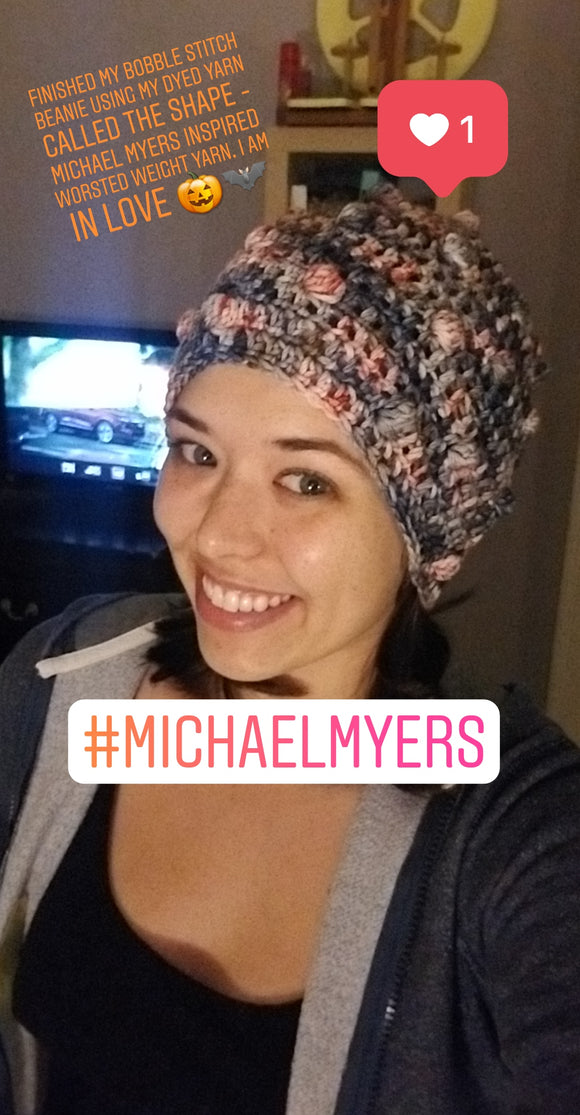 The Shape - Michael Myers inspired - Heathers Yarn Barn