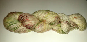 Pistachio with Brown Specks Yarn - Heathers Yarn Barn