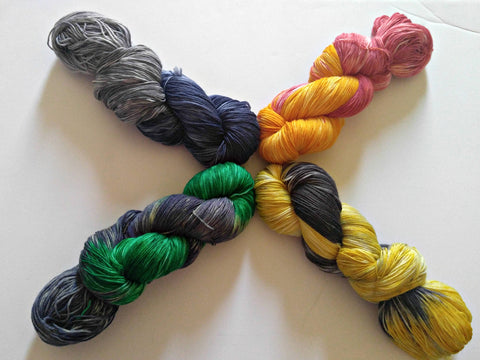 Harry Potter Hogwarts Movie House Theme Yarn - Heathers Yarn Barn