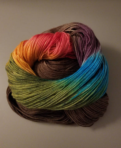 Chocolate Rainbow Yarn - Heathers Yarn Barn