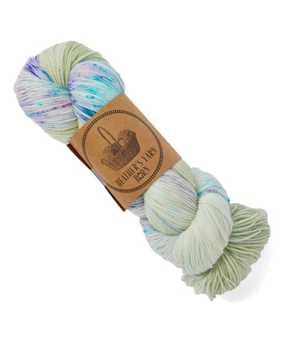 Hand Dyed Sock Yarn - Siren - 13 available - READY TO SHIP - Heathers Yarn Barn