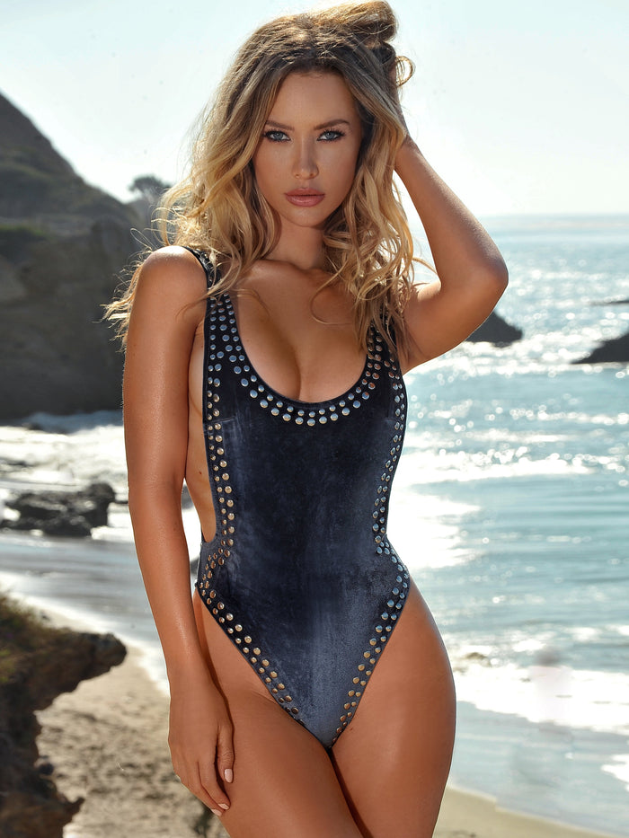 Puerto Plata Velvet One Piece Swimsuit