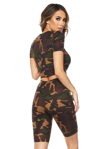 Super Camo Short Set