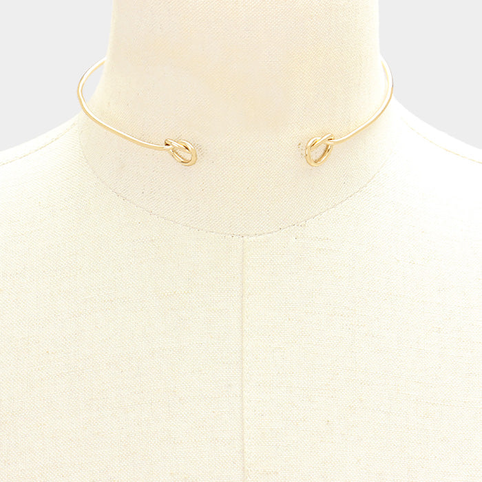 Love Knot Choker - Necklace