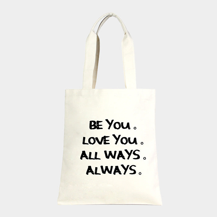 """Be You"" Eco Shopper Bag"
