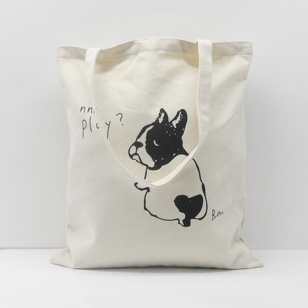 Puppy Print Eco Tote Bag