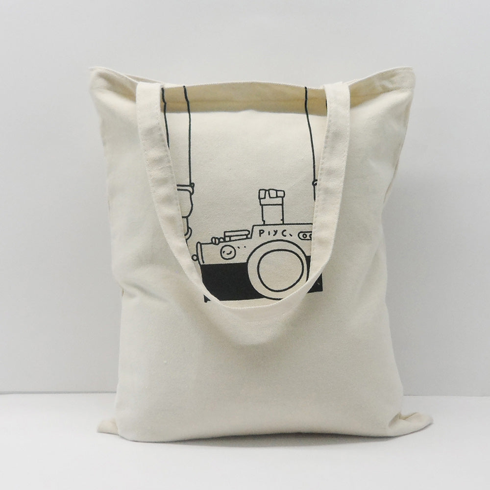 Camera Print Eco Tote Bag