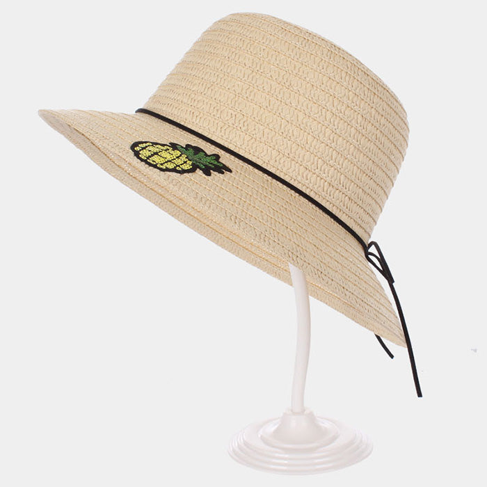 Pineapple Patch Straw Hat - Beige