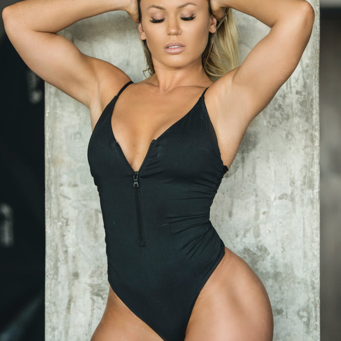 Arianna One-Piece Swimsuit - Black