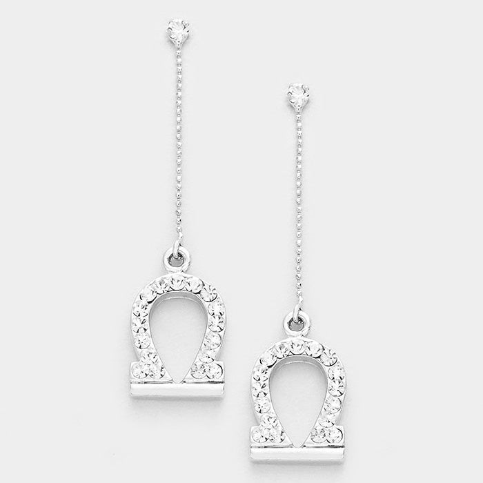 Zodiac Sign Dangle - Earrings