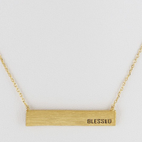 Blessed Daily Necklace