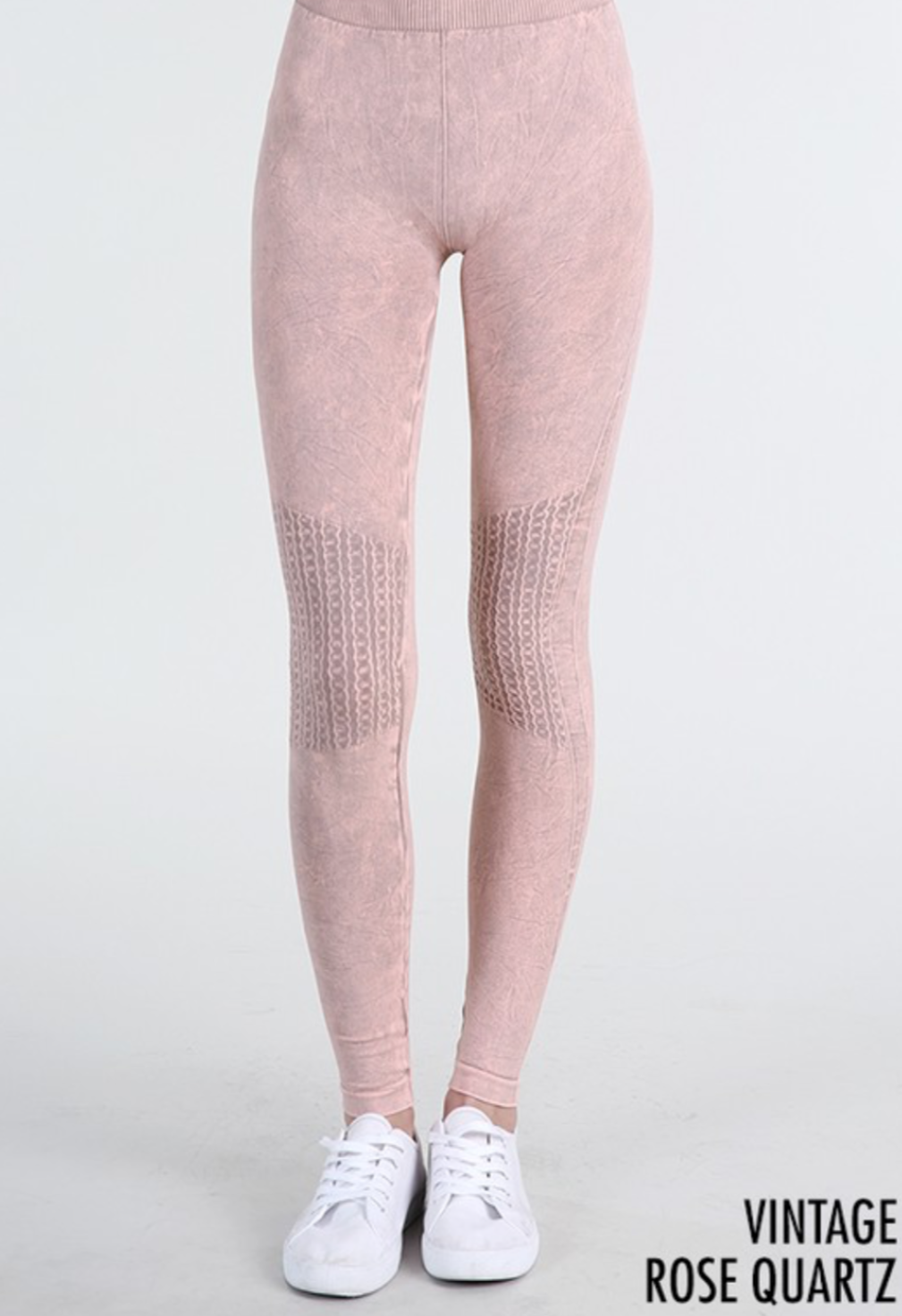 Vintage Leggings - Rose Quartz