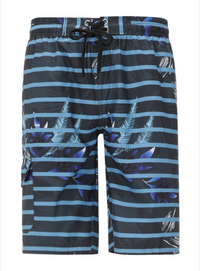 Blue Lagoon Cargo Swim Shorts - Men