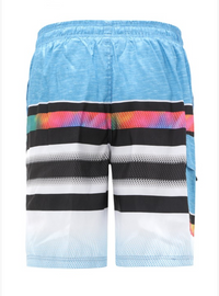 Retro Kid Cargo Swim Shorts - Men