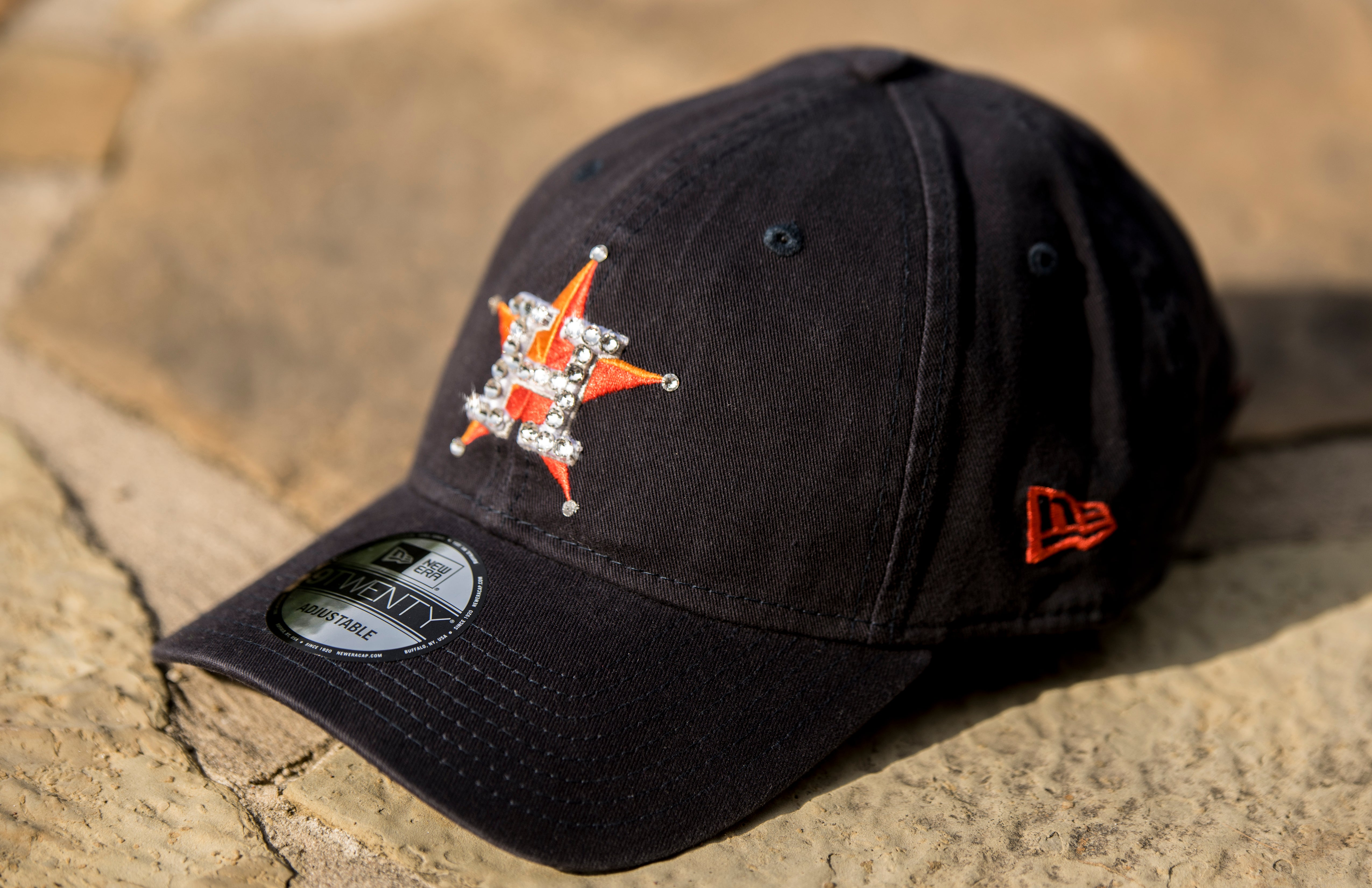 Swarovski Houston Astros Hat - Dad Hat