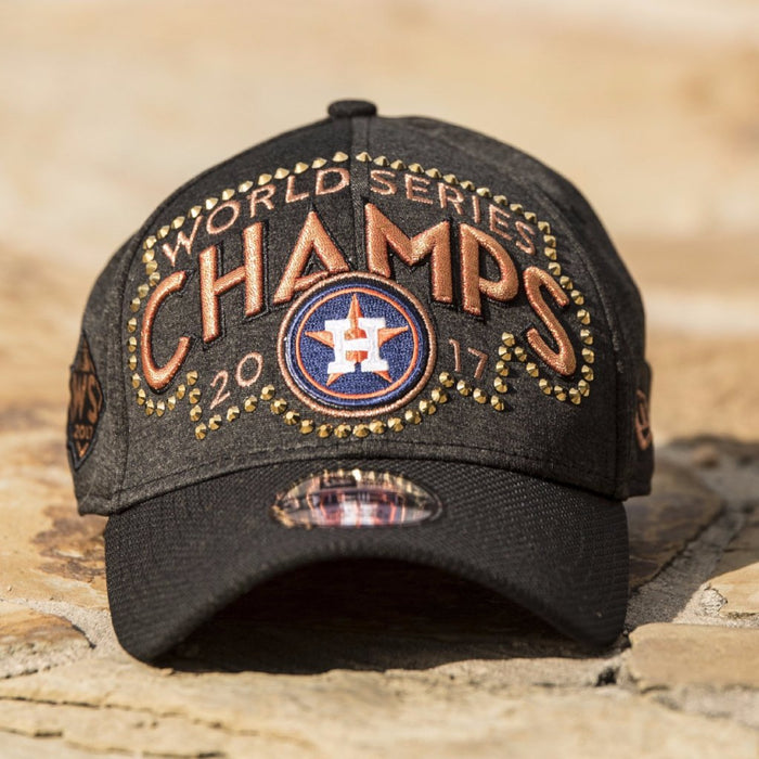 "Swarovski Houston Astros Hat - ""World Series Champ"""