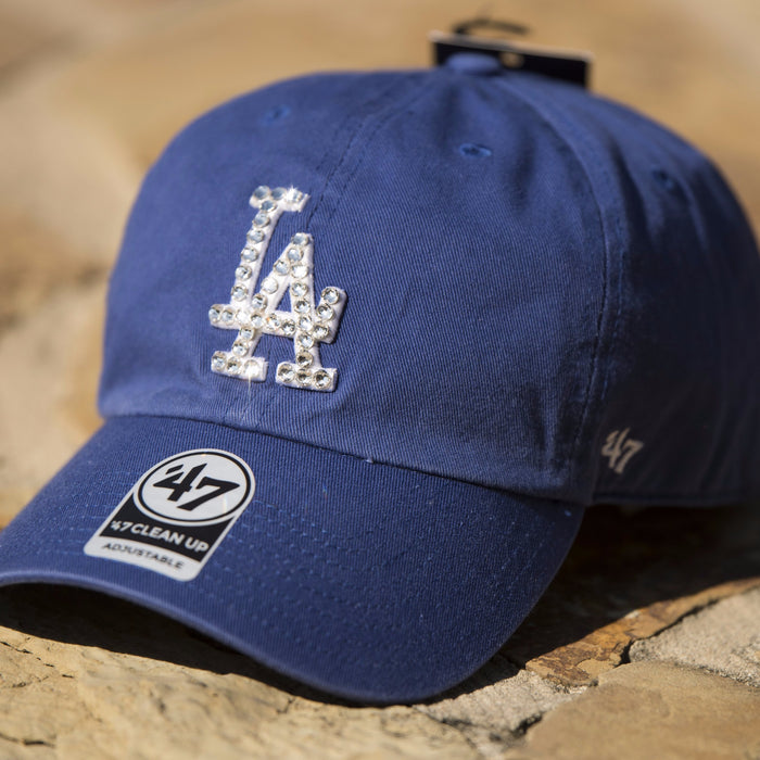 L.A. Dodgers - Swarovski Dad Hat