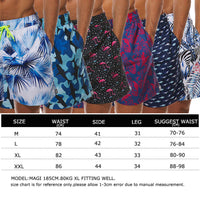 Maui Board Shorts Swim Trunks - Men