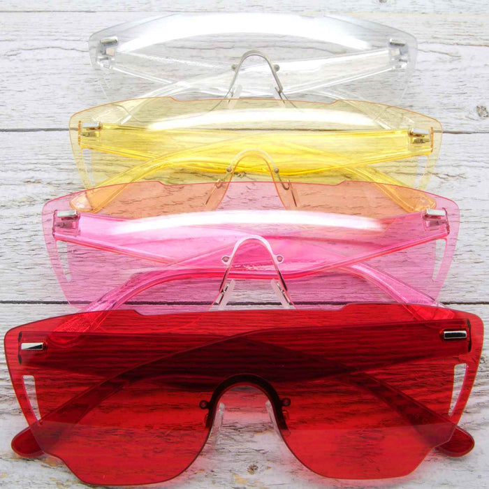 Bright Future Clear Sunglasses