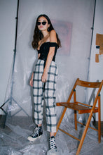 Gabby Plaid Trousers