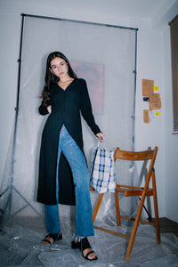 Tevon Midi Cardigan Dress