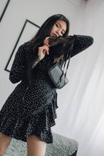 Ami Starry Dress in Navy