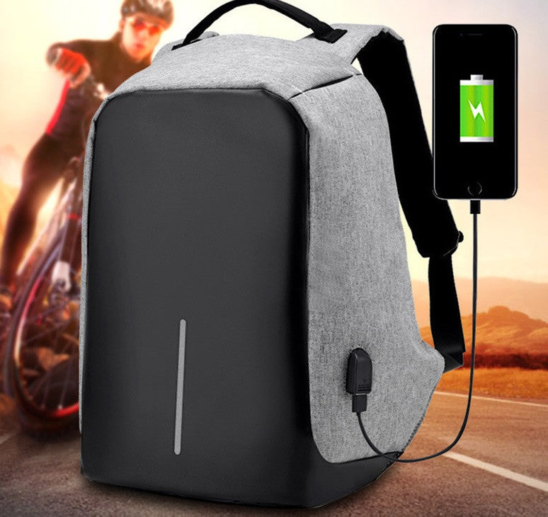 15.6 inch Multi-functional USB Charging Anti Theft Backpack
