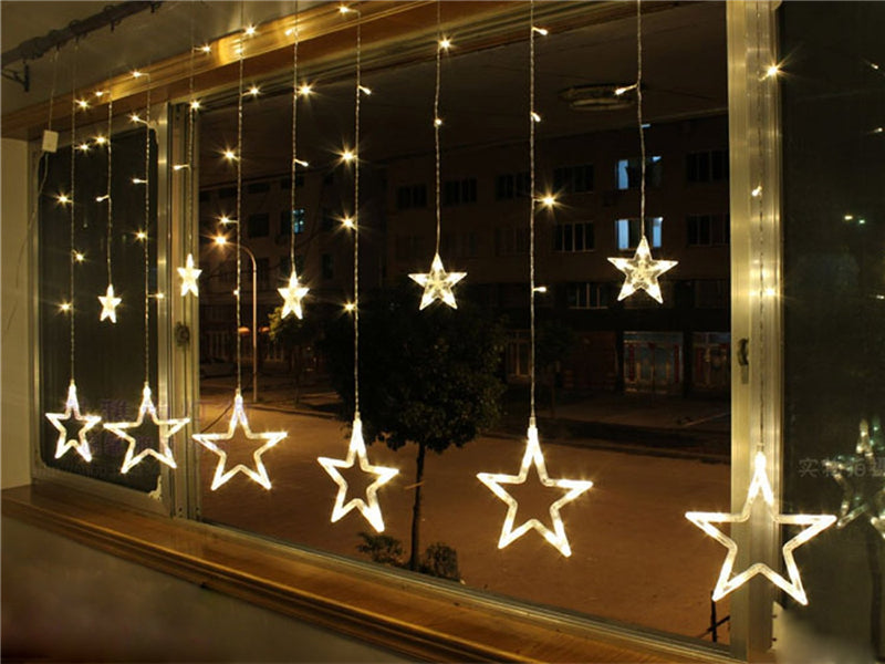 Star Shape Style Decorative String Fairy Light