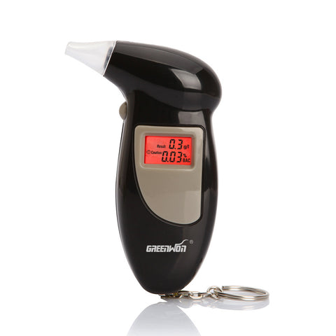 Digital Alcohol Breath Tester Keychain
