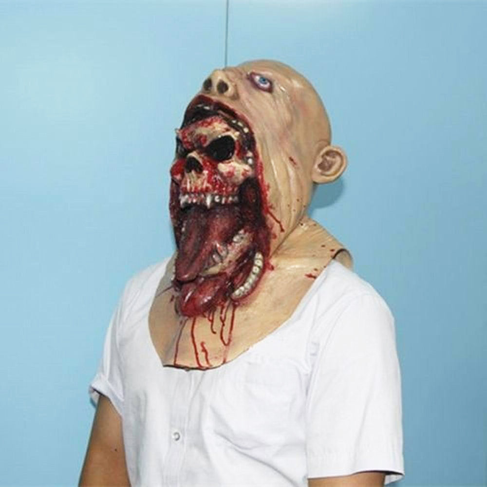 Bloody Zombie Halloween Scary HeadMasks