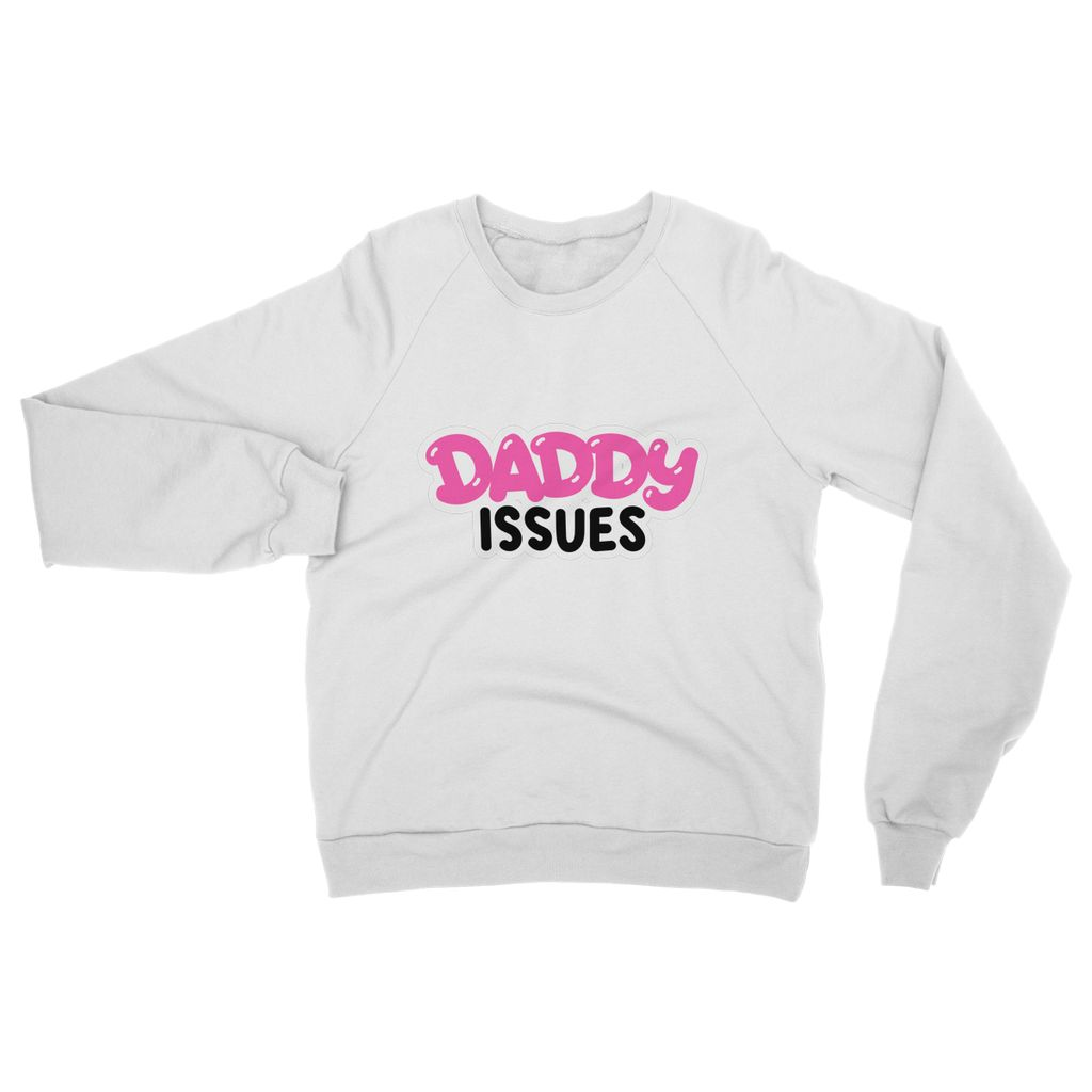 DADDY ISSUES CLASSIC Heavy Blend Crew Neck Sweatshirt